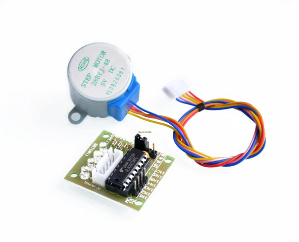 все цены на 5V 4-Phase 28YBJ-48 DC Gear Step 1PCS Stepper Motor + 1PCS ULN2003 Driver Board ULN2003 For Arduino PIC MCU DIY