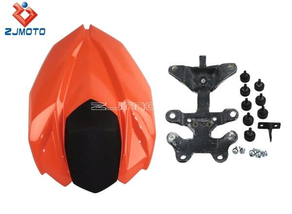 Capot de siège arrière Orange moto pour Kawasaki Z800 capot de siège arrière 2012-2013