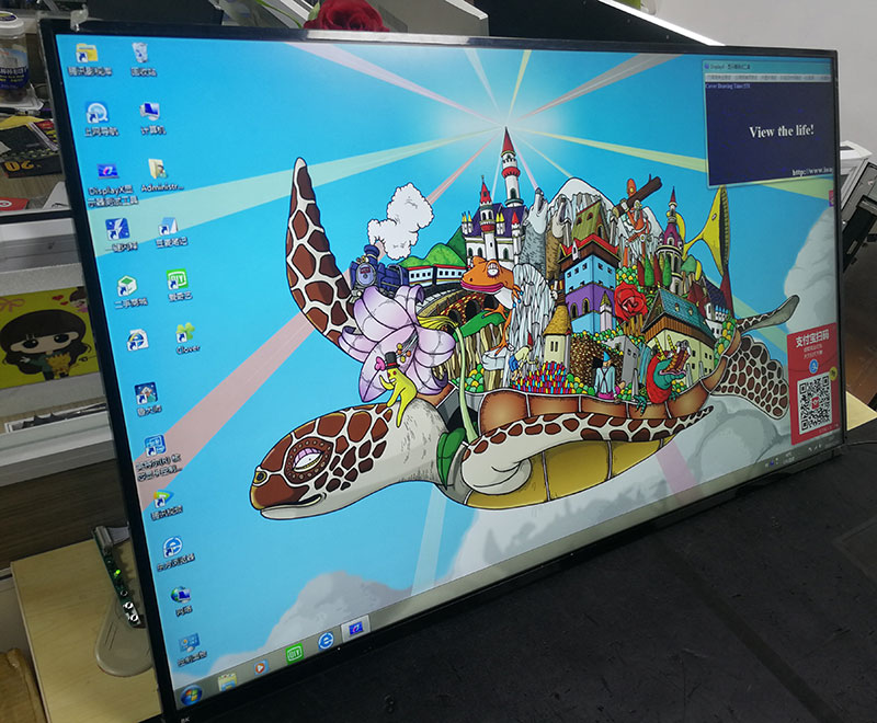 43 Inches New Original 4K Micro Border IPS LCD Screen LC430EQE FH A1 FOR DELL P4317Q LG 43UD79-B Display