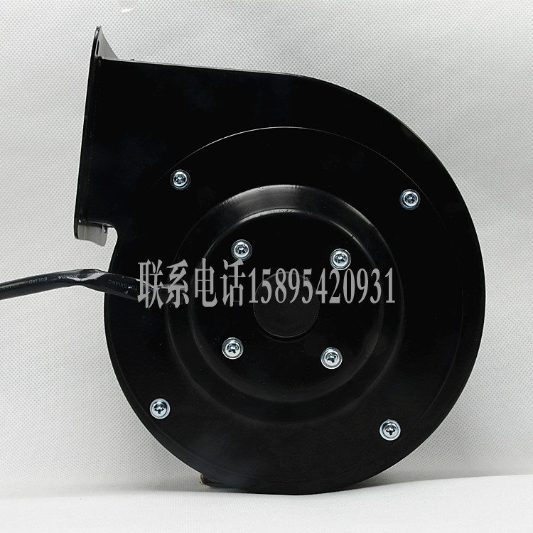 Small frequency centrifugal fan fan blower 130FLJ0/1/5 turbine exhaust fan 30W/60W/85W/120W konad лак для ногтей текстурный nail 01 black jeans classic jeans 10мл