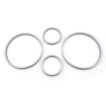 Car Accessories Speed Meter Decor Gauge Cluster Bezel Dashboard Dash Ring For BMW E38 E39 E53
