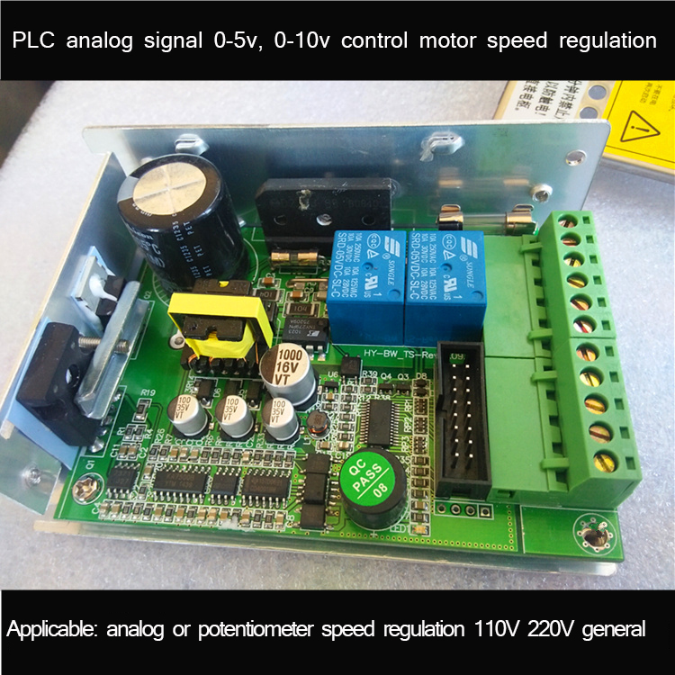PLC Analog Voltage PWM0-5V10V DC 110V220V Motor Forward and Reverse Speed Control Driver BoardPLC Analog Voltage PWM0-5V10V DC 110V220V Motor Forward and Reverse Speed Control Driver Board