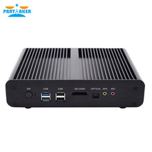 Partaker B13 Mini PC Core i7 7560U Dual LAN 2*DDR4