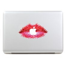 Removable Avery DIY colorful sexy beautiful red lips tablet and laptop computer sticker for laptop,170*270mm