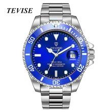 Watches Men Luxury Brand TEVISE Fashion Waterproof Quartz Watch Sport Stianless Steel Wristwatch Male Clock Relogio Masculino