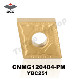 Hot sell original zcc ct cutting tool cnmg 120404 pm ybc251 inserts cnmg431 cnmg120404 steel stainless.jpg 250x250