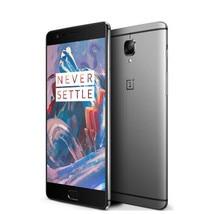 """Original oneplus 3 tres 5.5 """"FHD 1920×1080 6 GB RAM 64 GB ROM 4G LTE Snapdragon820 Quad Core Smartphone 16MP IDENTIFICACIÓN de Huellas Dactilares NFC"""