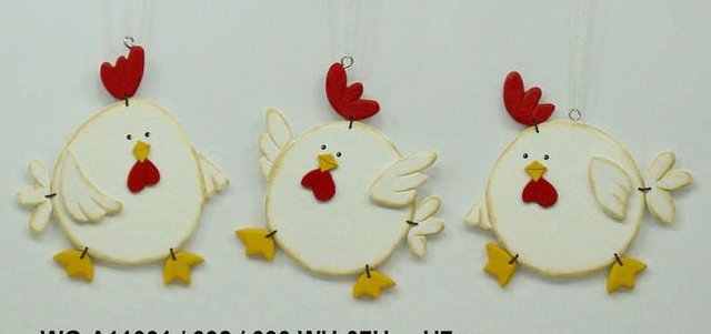 Aliexpress Com Buy Home Decor Easter Decorations Wooden Chicken