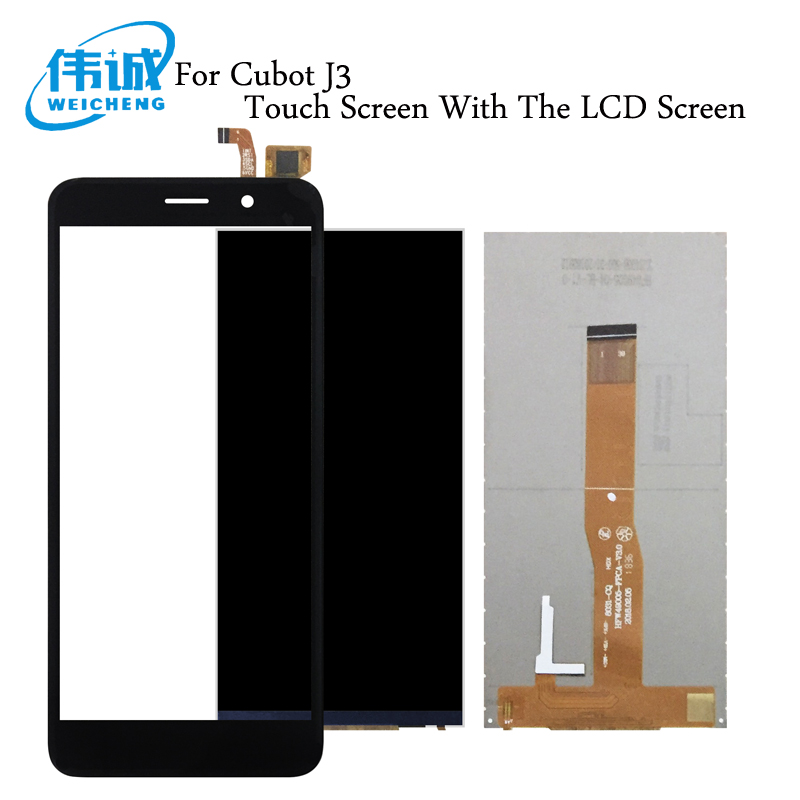 WEICHENG 5.0For Cubot J3 LCD Display with Touch Screen Digitizer For Cubot J3 Mobile Phone Accessories +Free ToolsWEICHENG 5.0For Cubot J3 LCD Display with Touch Screen Digitizer For Cubot J3 Mobile Phone Accessories +Free Tools