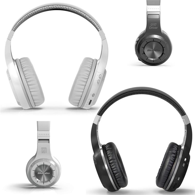For Bluedio H+ Bluetooth headsets Stereo Wireless headphones Mic Micro FM Radio V4.1 Over ear headphones
