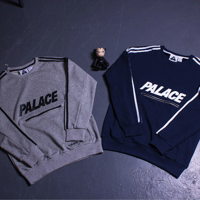 Palace Skateboards Men Hoodie Hip Hop  Kanye Union 3 Tripes Moletom Yeezy Track Joggers 3M Reflective Palais Hoody Sweatshirts