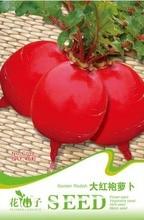 (Mix minimum order $5)1 original pack 40 pcs Seeds Red Garden Radish Turnip Seed C098 free shipping