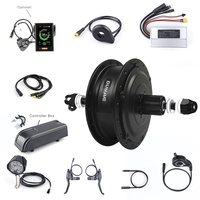 Bafang New 36V 350W Electric Bicycle Rear Hub Motor Conversion Kit Electric Bike 20'' 26'' Motor With LCD Display