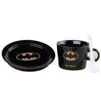 200CC Super hero cốc cà phê bộ batman superman irow man cup với món ăn muỗng sáng tạo drinkware 12