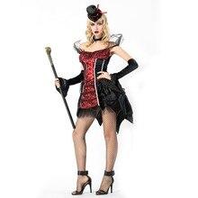 Взрослый женский соблазнительный сексуальный страшный костюм вампира на Хеллоуин костюм для вечеринки