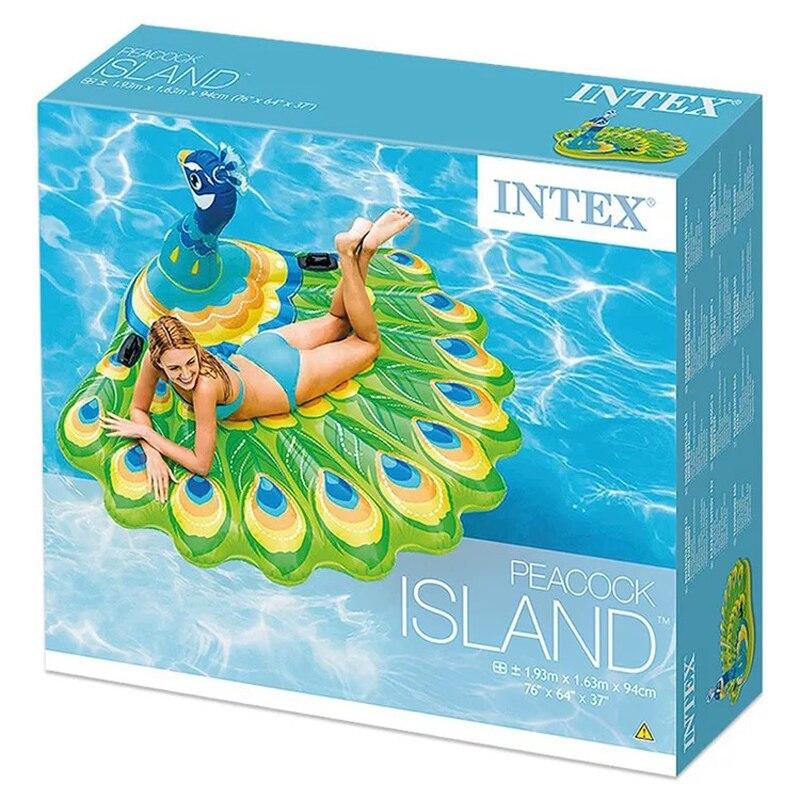 Piscine gonflable bateau flottant adulte natation flottante rangée été repos eau jouets et pompes à eau - 4