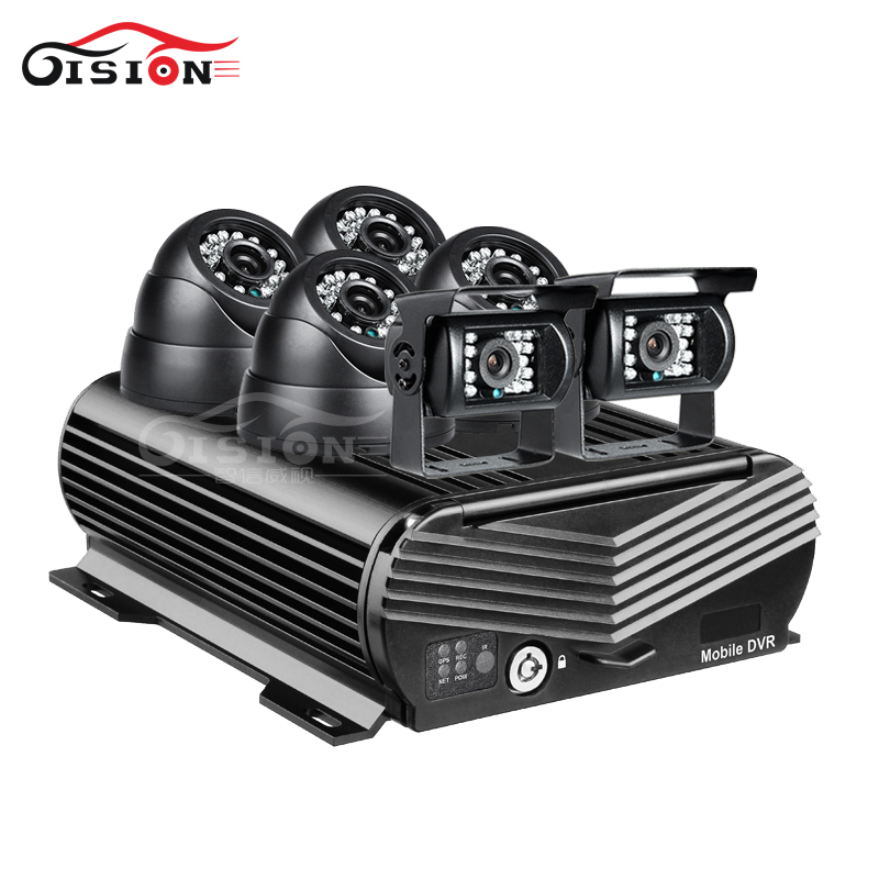 8CH 1080N Hard Disk GPS Mobile Dvr 2TB 256G I/O Alarm With 6Pcs 2.0MP Night Vision Camera For Bus Truck Taxi Vehicle Mdvr Kits8CH 1080N Hard Disk GPS Mobile Dvr 2TB 256G I/O Alarm With 6Pcs 2.0MP Night Vision Camera For Bus Truck Taxi Vehicle Mdvr Kits
