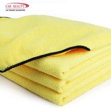 3 pz/Roll 40×30 cm Asciugamano In Microfibra Auto di Pulizia di Lavaggio Orlare di Secchezza del Panno Cura dell'auto Manutenzione Lucidatura Detailing cleaner