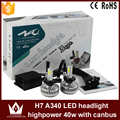Night Lord A340-H7 CAR COB LED Headlight  COB fog lights 3300LM 36W 6000K H7 LED Headlight for car fog lamp