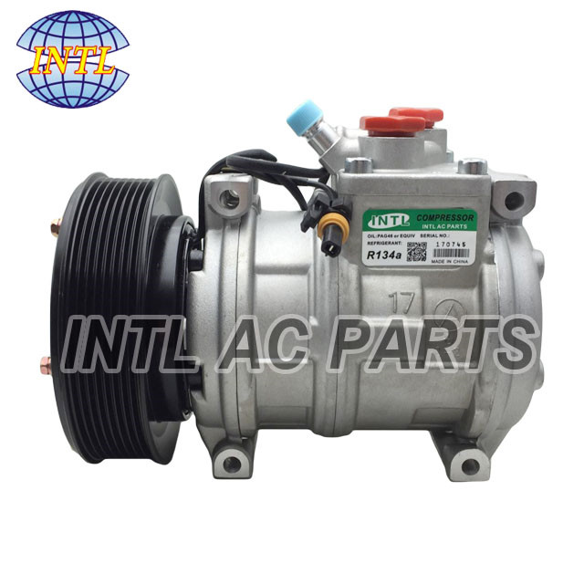 10PA17C auto car a/c compressor for John Deere Loaders AT172975