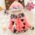 Chaqueta de Invierno de Las Muchachas de Minnie abajo Capa Caliente Niños bebé Prendas de Vestir Exteriores de Manga Larga Con Capucha de Algodón rosa niñas Bebés Niños Chaquetas