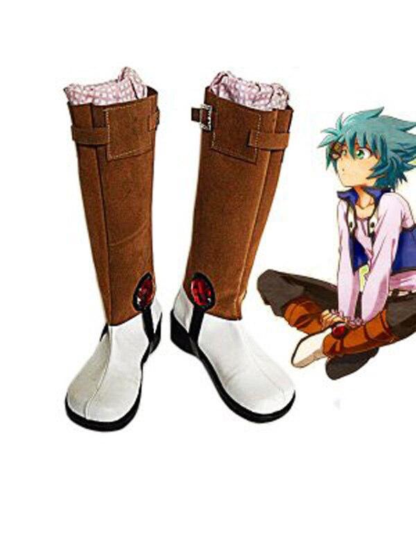 Bereidwillig Yu-gi-oh! Gx Johan Andersen Cosplay Laarzen Anime Party Cosplay Laarzen Custom Made Mannen Schoenen Knappe Verschijning