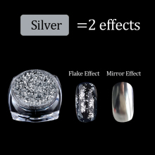 Aluminum Flakes Magic Mirror Powders