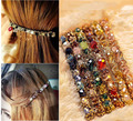 Women Fashion Crystal Rhinestone Barrette Hairpin Hair Clip Accessories girl's headwear free shipping