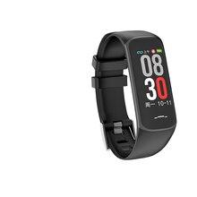 สร้อยข้อมือสมาร์ท B2 บลูทูธกันน้ำสายรัดข้อมือหญิงสรีรวิทยาความจำ Heart Rate Monitor Fitness Tracker