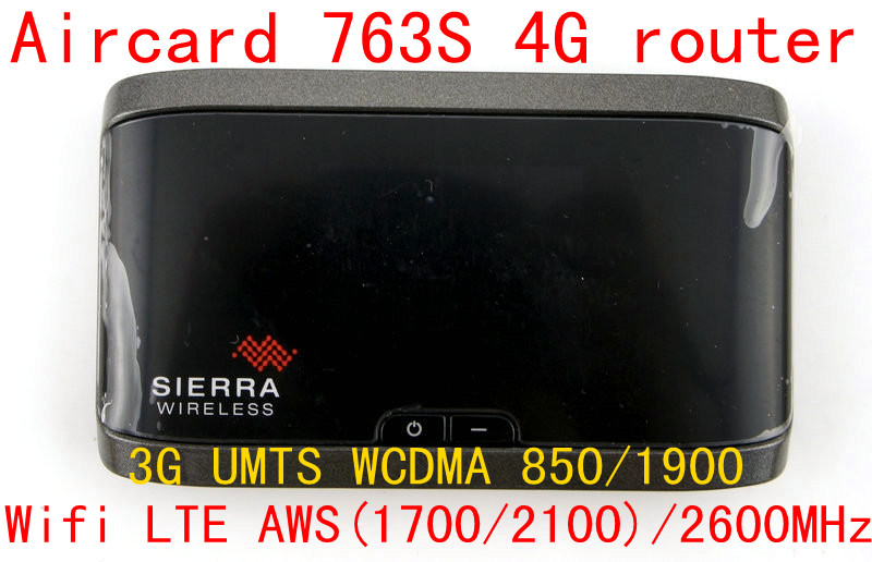 Unlocked 3g 4G LTE wifi router Sierra Aircard 763S lte 4g mifi dongle Wireless Mobile Hotspot pocket mifi router pk 754s 762s unlocked 100mbps 4g 3g lte wifi router sierra aircard 763s lte 4g mifi dongle wireless router hotspot pocket router pk 760s 762