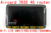 Unlocked 3g 4G LTE Wifi Router Sierra Aircard 763S Lte 4g Mifi Dongle Wireless Mobile Hotspot
