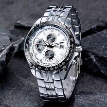 CURREN אופנה מלא נירוסטה שעונים לגברים מקרית צבא צבאי קוורץ גברים שעונים שעוני יד מים עמיד 30 m 8083