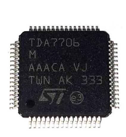 O ENVIO GRATUITO de 1 PÇS/LOTE TDA7706M QFP ORIGINAL EM SOTCK IC