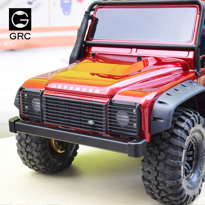 Aluminium alloy Classic style front bumper for 1/10 TRAXXAS Trx-4 TRX4 Rc crawler car 3d model relief for cnc in stl file format werewolf