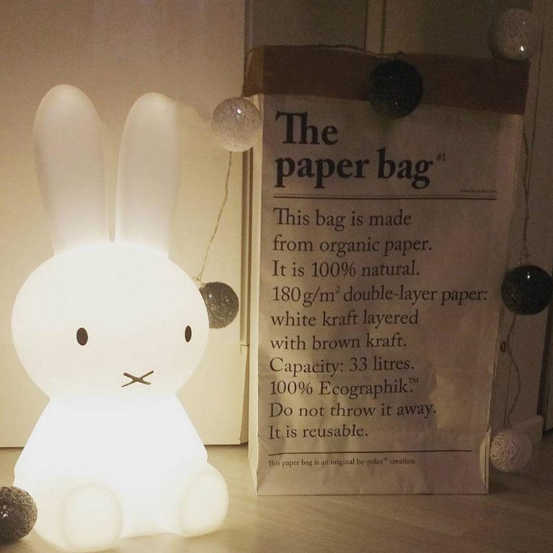 50 cm Kaninchen Led nachtlicht für Kinder Baby Schlafzimmer Nacht ...