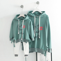 2019 Fashion Spring And Summer Parent Child Outfits Hoodies Family Matching Outfits