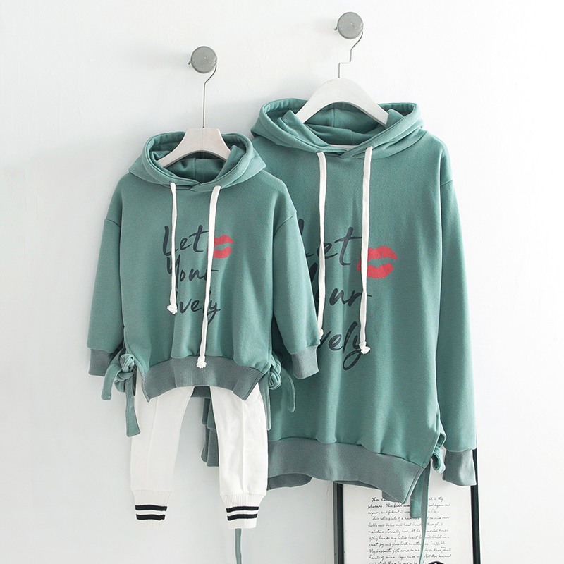 2019 Spring and Summer season Dad or mum-Baby Outfits Hoodies Household Matching Outfits Matching Household Outfits, Low-cost Matching Household Outfits, 2019 Spring and Summer season Dad or mum Baby...