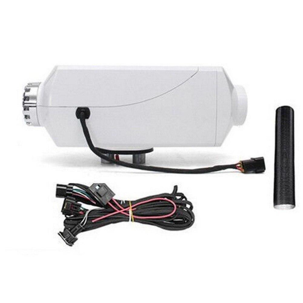 2/3/5/8KW Portatile Universale per Auto di Parcheggio Aria Riscaldatore Blu Interruttore LCD con Silenziatore Singolo Foro riscaldatore Per Camion Barca Auto Rimorchio