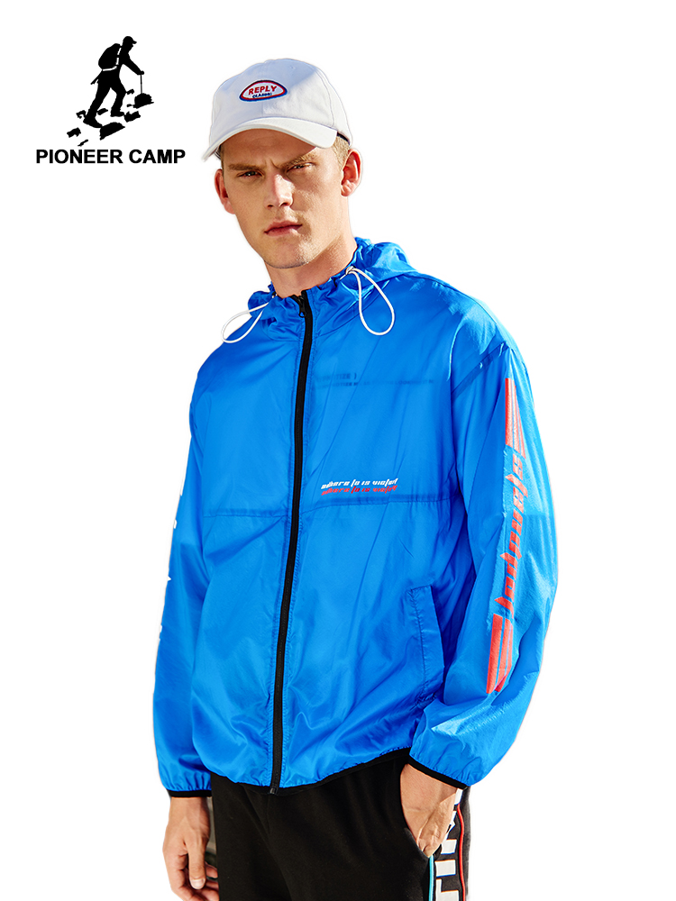 Pioneer Camp Mens&Women Skin Jackets Waterproof Coats Outdoor Sports Brand Clothing Camping Hiking Male&Female  AJK901044