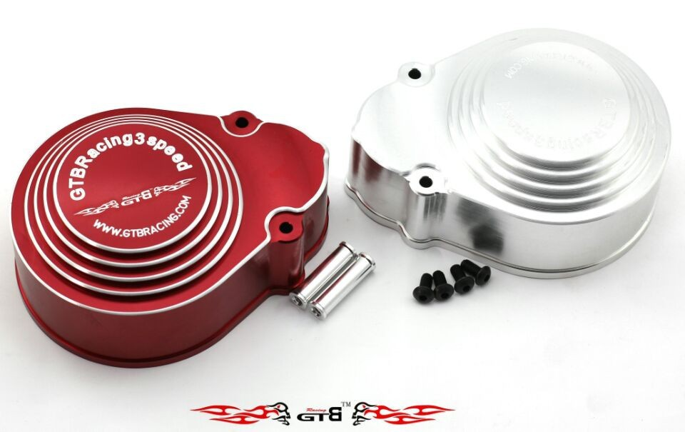 GTB 3 Speed Transmission Housing Cover KM HPI  BAJA 5B baja 5b 2 speed transmission gears are 57t 51t 23t 17t of 1 5 rovan baja 5b km hpi 85179