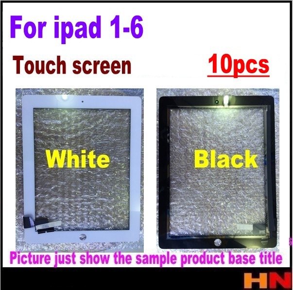 10pcs original Quality For iPad 2 3 4 5 6 Touch Screen Digitizer Replacement with 3M