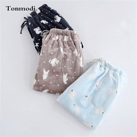 Lovers Pajama Pants Trousers Thickening Flannel Lounge Pants Thermal Coral Fleece Velvet Plus Size Trousers