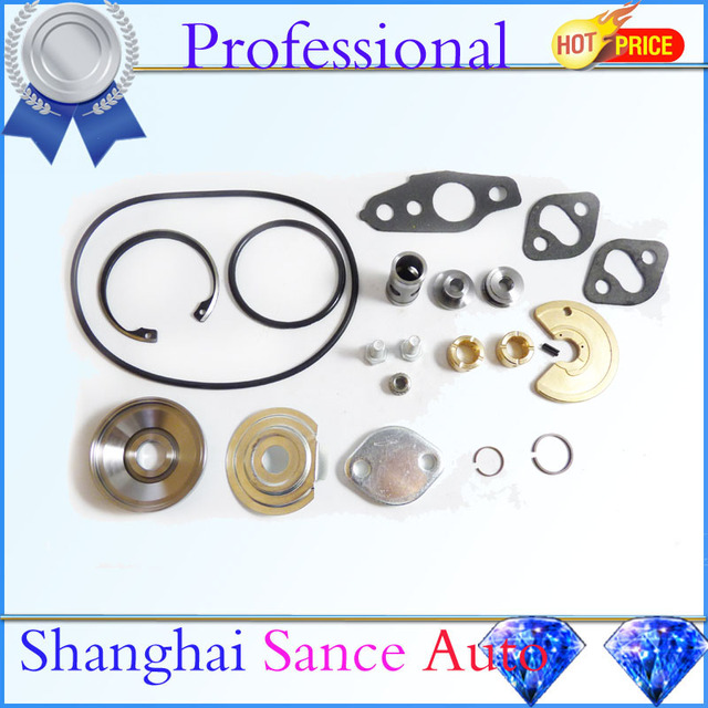 US $34 31 12% OFF|ISANCE Turbo Charger Repair Rebuild Service Kit For  Toyota Turbo CT20 CT26 Celica Landcruiser Hiace Hilux MR2 2L T 1HD FT-in  Turbo