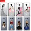 silicone case phone cover for LG G7 Q8 Q6 G6 MINI G5 V30 V7 V9 k10 k8 X POWER 2 Beautiful Love Dress Shopping Girl