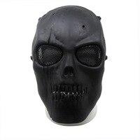 1 unids Militar Airsoft Máscara de Calavera Máscara de Protección Completa