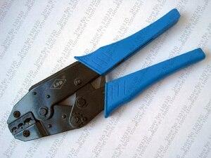Image 4 - Krimpgereedschap hand tool set voor crimp terminals en connector met kabel cutter tang vervangbare sterft LS K03C, multi tool kits