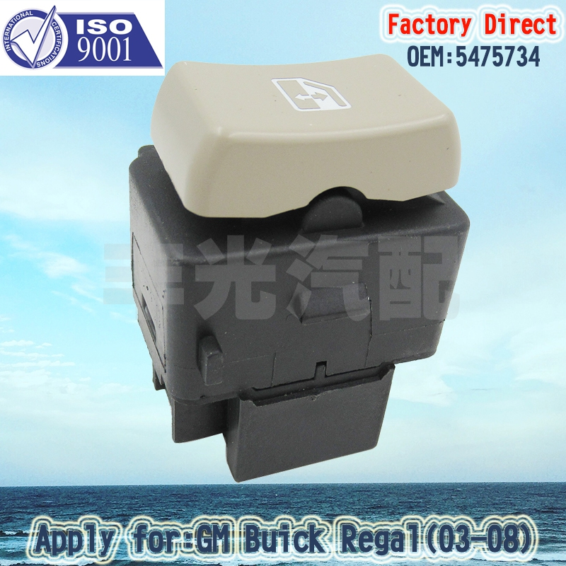 Factory Direct 5475734 Auto Car Electric Power Window Master Switch Apply For 2002-2007 Buick Rendezvous(3PCS/Lot)
