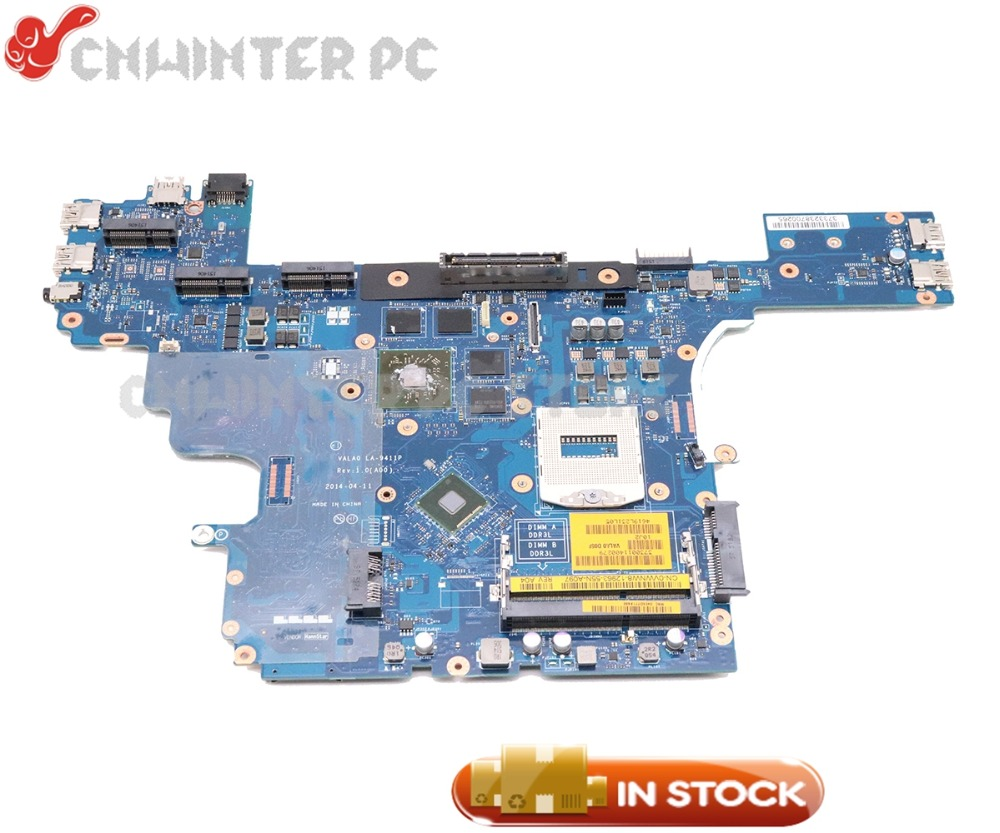 NOKOTION CN-0VWNW8 0VWNW8 VALA0 LA-9411P для DELL Latitude E6540 материнская плата для ноутбука PGA947 HD8790M 2GB gpu