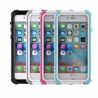 Dupla utilização vida e natação à prova d' água caso para iphone6 6 s saco do telefone móvel para iphone6 6 s água sujeira à prova de choque