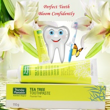 Original Australia Tea Tree Toothpaste Fluoride Free Maintain healthy gums Cleans teeth fresh mouth prevent tooth decay plaque